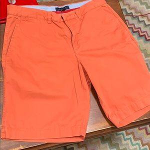 Awesome 34 waist orange Hilfiger shorts.